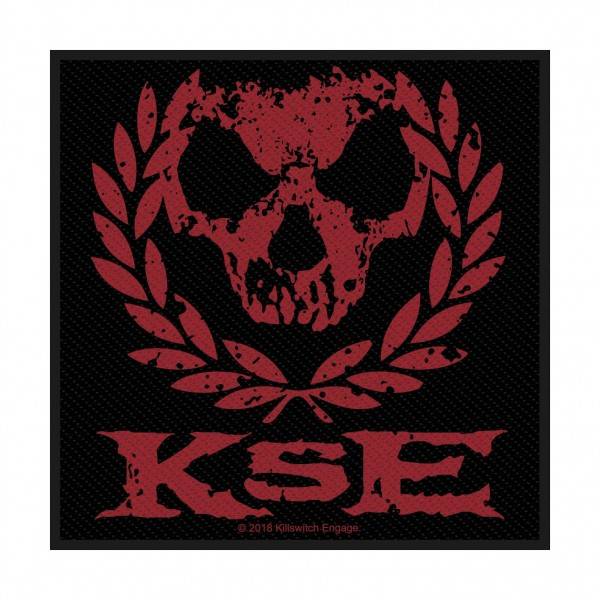 KILLSWITCH ENGAGE - Skull Wreath Patch Aufnäher