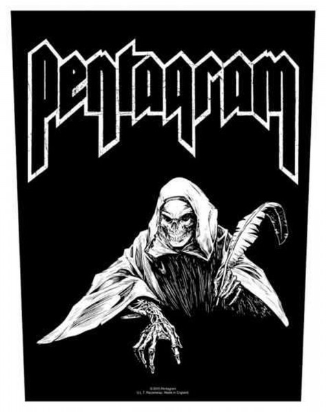 PENTAGRAM - Reaper Backpatch Rückenaufnäher