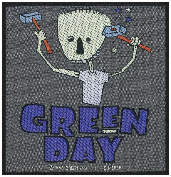 GREEN DAY - Hammer Face Patch Aufnäher