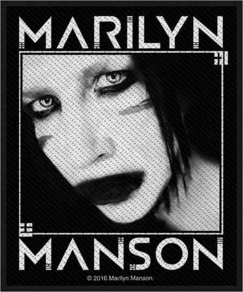 MARILYN MANSON - Villain Patch Aufnäher