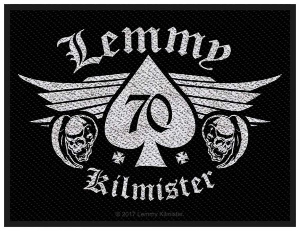 MOTÖRHEAD - Lemmy 70 Patch Aufnäher