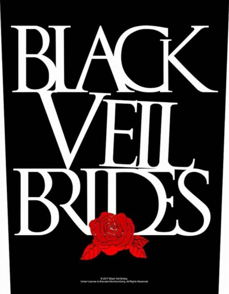 BLACK VEIL BRIDES - Rose Backpatch Rückenaufnäher