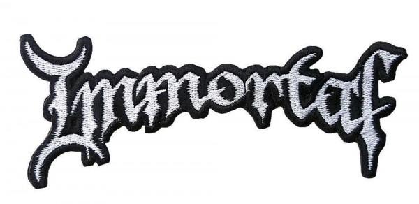 IMMORTAL - Logo cutout Patch Aufnäher
