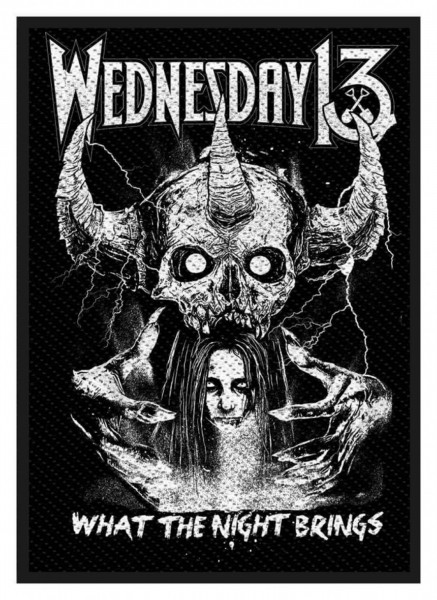 WEDNESDAY 13 - What The Night brings Patch Aufnäher