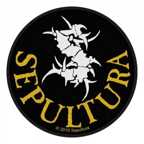 SEPULTURA - Circular Logo Patch Aufnäher