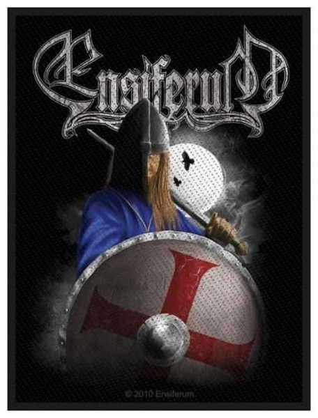 ENSIFERUM - Viking Logo Patch Aufnäher