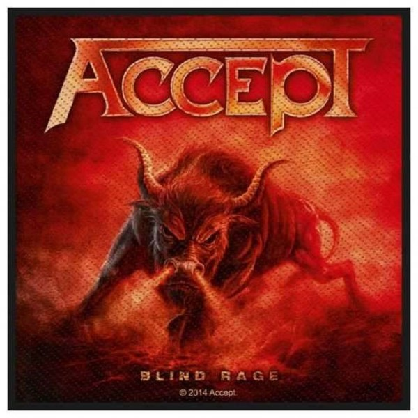 ACCEPT - Blind Rage Patch Aufnäher