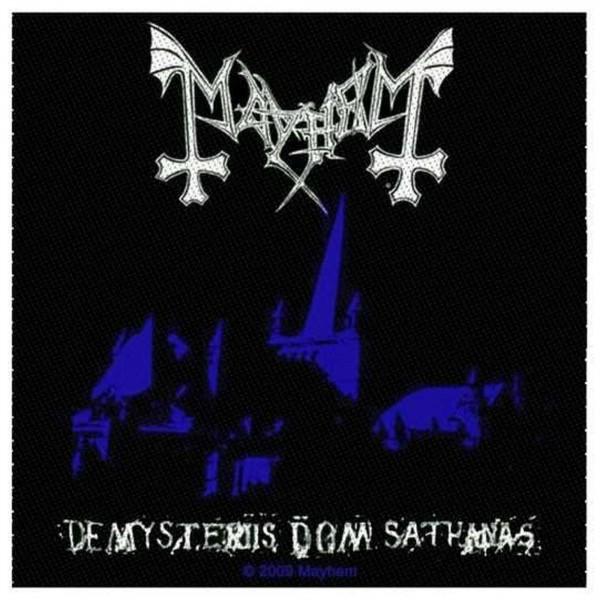 MAYHEM - De Mysteriis Dom Sathanas Patch Aufnäher