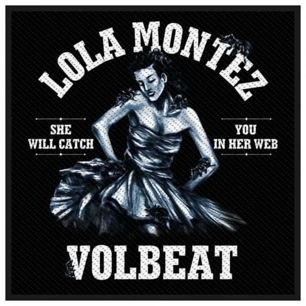 VOLBEAT - Lola Montez Patch Aufnäher