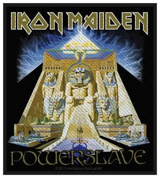 IRON MAIDEN - Powerslave Patch Aufnäher