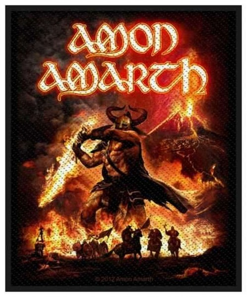 AMON AMARTH - Surtur Rising Patch Aufnäher
