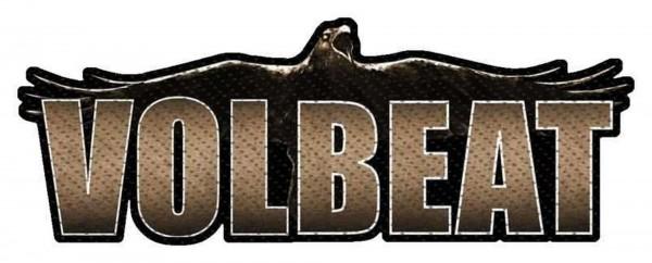 VOLBEAT - Raven Logo Cut Out Patch Aufnäher