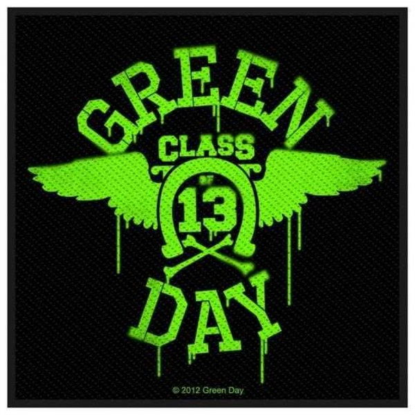 GREEN DAY - Neon Wings Patch Aufnäher