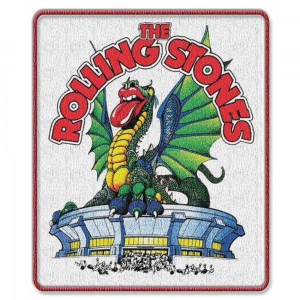 THE ROLLING STONES - Dragon Patch Aufnäher