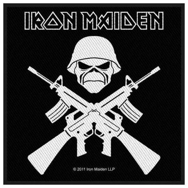 IRON MAIDEN - Crossed Guns Patch Aufnäher