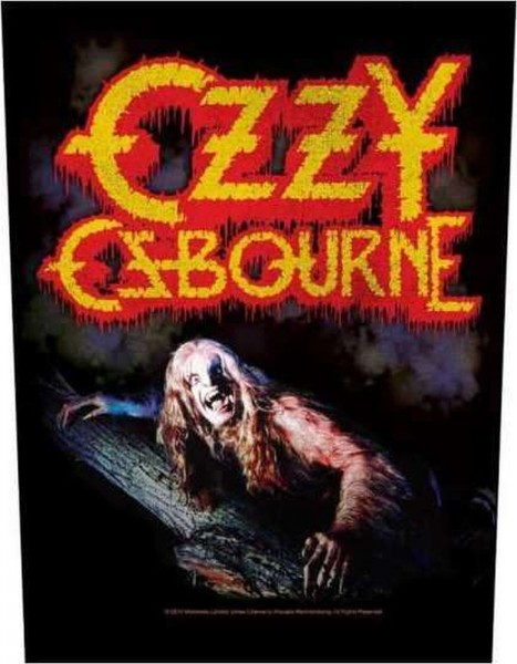 OZZY OSBOURNE - Bark At The Moon Backpatch Rückenaufnäher
