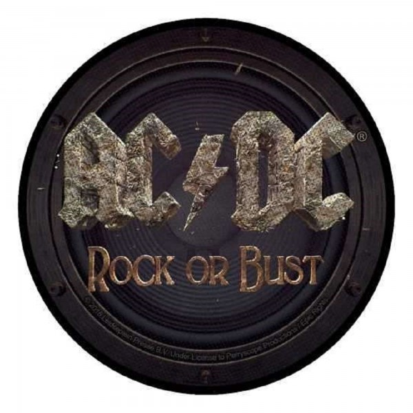 AC/DC - Rock Or Bust rund Patch Aufnäher