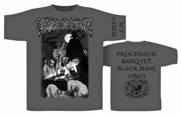 CRADLE OF FILTH - Black Mass T-Shirt