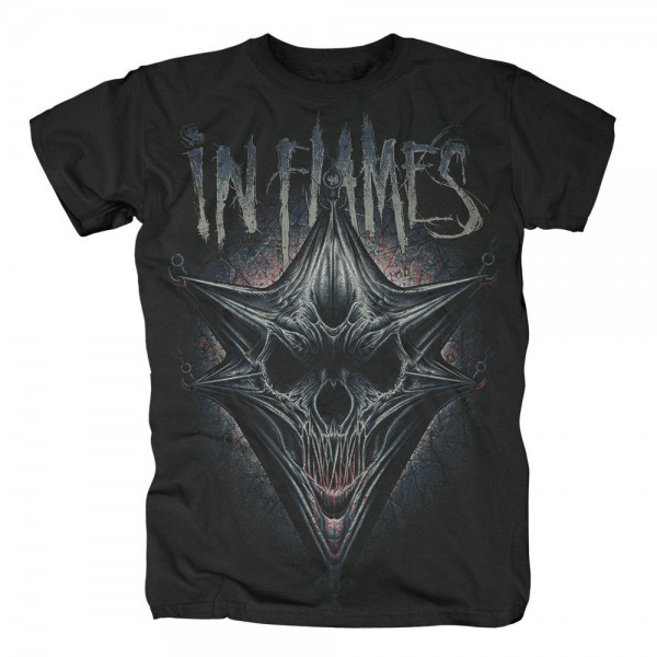 IN FLAMES - Hooked Jesterhead T-Shirt