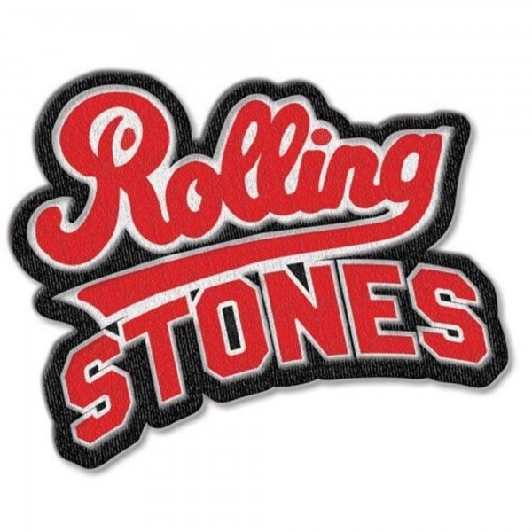 THE ROLLING STONES - Team Logo Patch Aufnäher