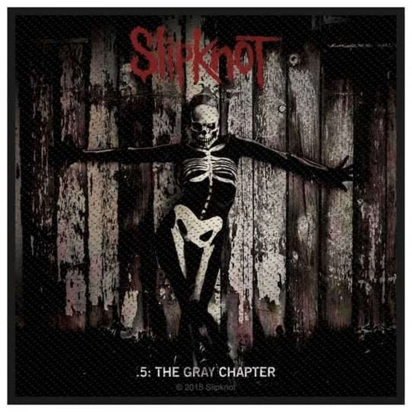 SLIPKNOT - The Gray Chapter Patch Aufnäher