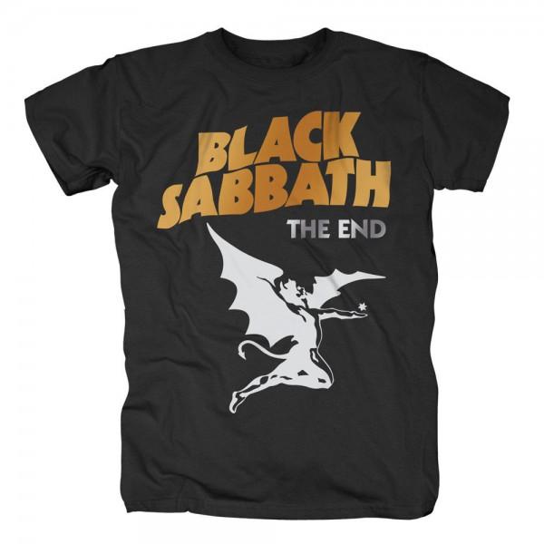 BLACK SABBATH - The End Cover Logo T-Shirt