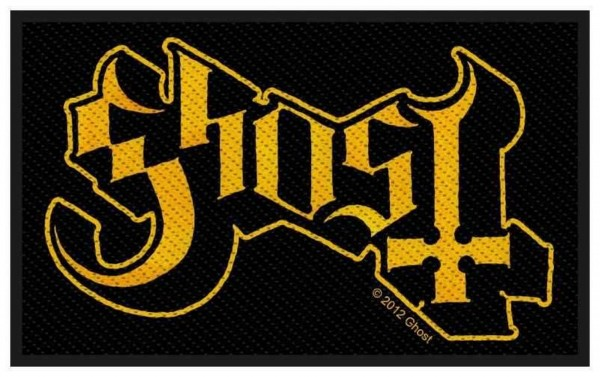 GHOST - Logo Patch Aufnäher