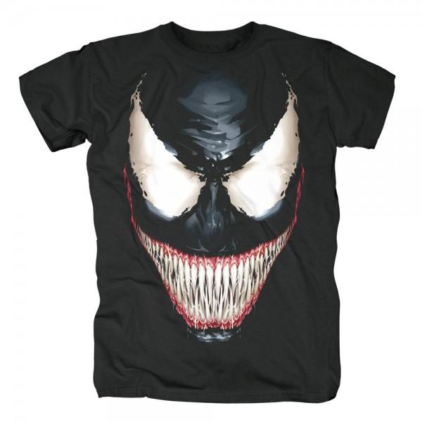 MARVEL COMICS - Venom Big Face T-Shirt