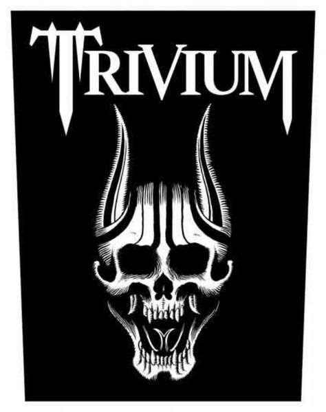 TRIVIUM - Skull Backpatch Rückenaufnäher