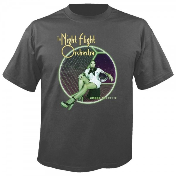 THE NIGHT FLIGHT ORCHESTRA - Amber galactic T-Shirt