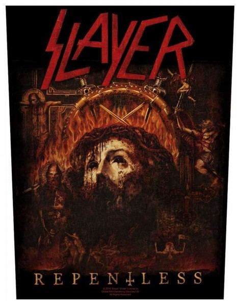 SLAYER - Repentless Backpatch Rückenaufnäher
