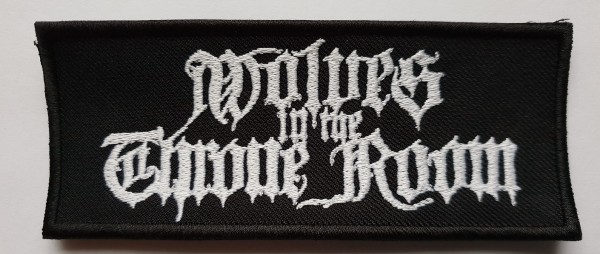 WOLVES IN THE THRONE ROOM - Name Patch Aufnäher