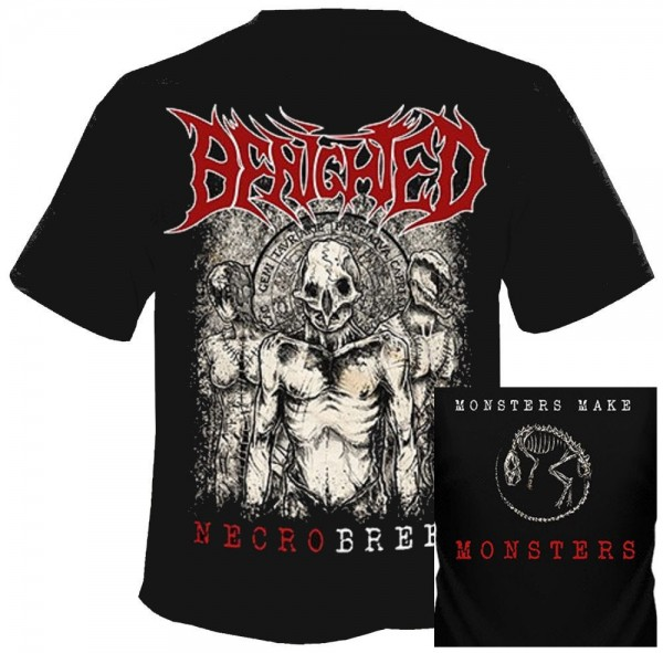BENIGHTED - Necrobreed T-Shirt