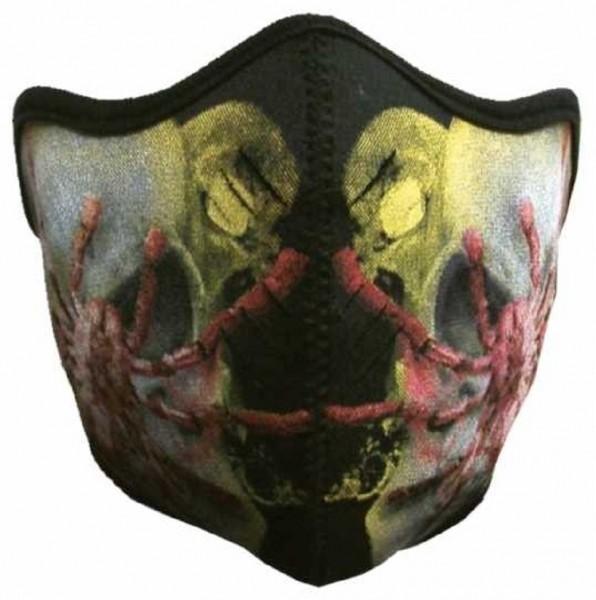 MASKE - Motorrad Gesichtsmaske Mundschutz Gesichtsschutz Spider
