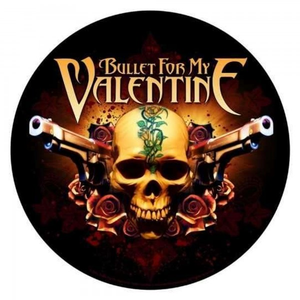 BULLET FOR MY VALENTINE - Two Pistols Backpatch Rückenaufnäher