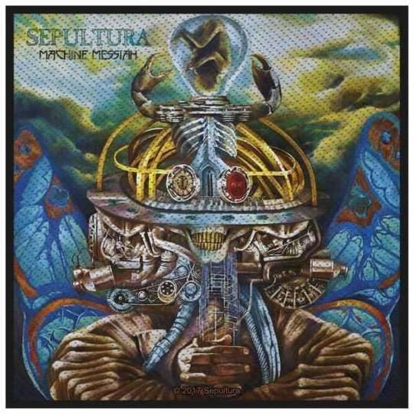 SEPULTURA - Machine Messiah Patch Aufnäher