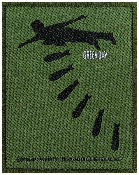 GREEN DAY - Bombs Patch Aufnäher