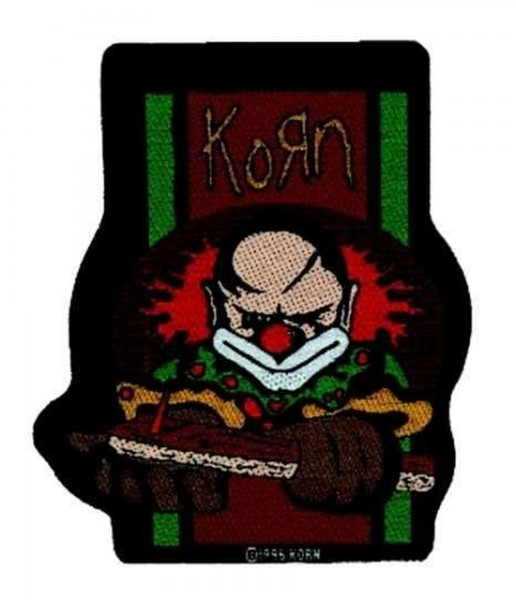 KORN - Clown Patch Aufnäher