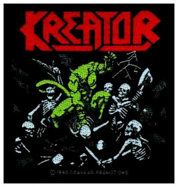 KREATOR - Pleasure to kill Patch Aufnäher