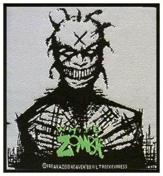 WHITE ZOMBIE - Zombie Patch Aufnäher