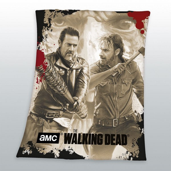 THE WALKING DEAD - Fleecedecke Kuscheldecke