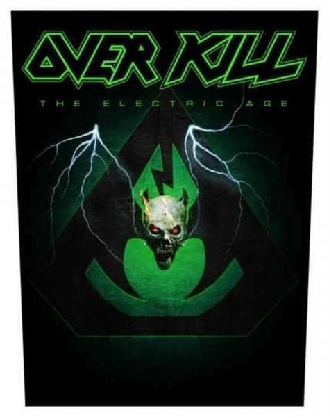 OVERKILL - The Electric Age Backpatch Rückenaufnäher