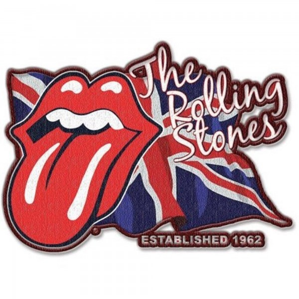 THE ROLLING STONES - Lick The Flag Patch Aufnäher