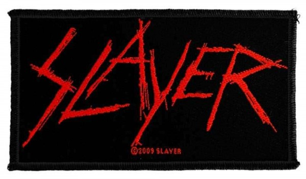 SLAYER - Scatched Logo Patch Aufnäher