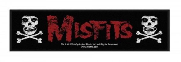 MISFITS - Cross Bones Patch Aufnäher Superstrip