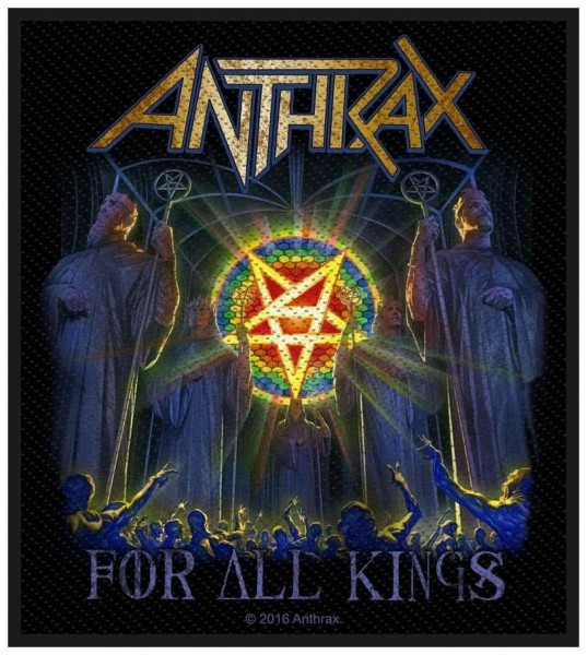ANTHRAX - For All Kings Patch Aufnäher