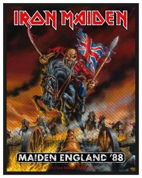 IRON MAIDEN - England ´88 Patch Aufnäher