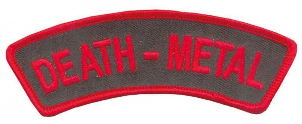 DEATH METAL - Banner Patch Aufnäher