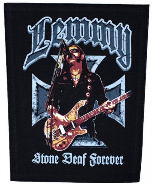 MOTÖRHEAD - Lemmy Sone Deaf Forever Backpatch Rückenaufnäher