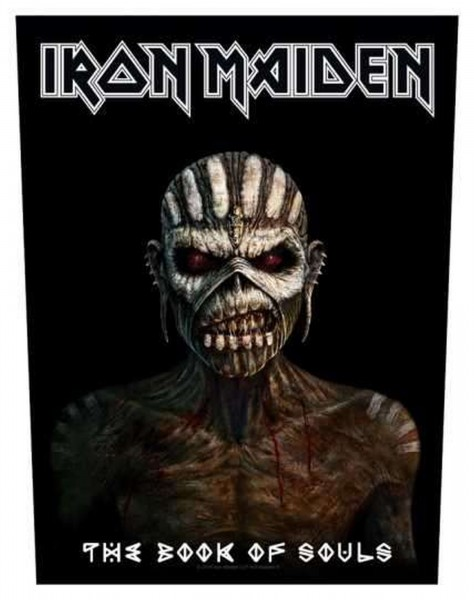 IRON MAIDEN - The Book Of Souls Backpatch Rückenaufnäher